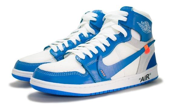 Tênis Cano Alto Nike Jordan Air Force 1 Off-white Original