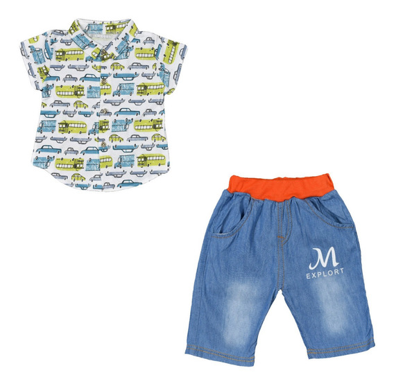 Ropa Para Niño Camisa Y Short Para Niño