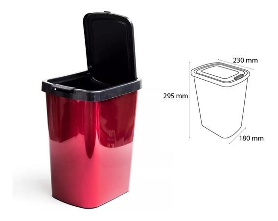 Lixeira Cesto 9 Litros Pia Cozinha Banheiro Automática