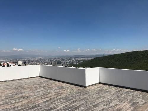 Preciosa Residencia En Cumbres Del Cimatario, 4 Niveles, Sótano, Jardín, Ctosev