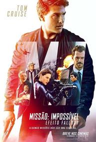 Poster Do Filme: Missão Impossível - Efeito Fallout
