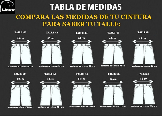 Pantalon Cargo Beige Reforzado Linco El Mejor T.40-48