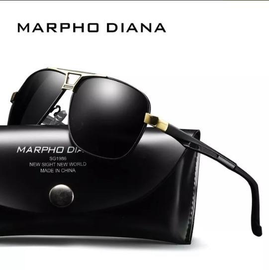 Óculos De Sol Masculino Morpho Lentes Polarizada Uv400