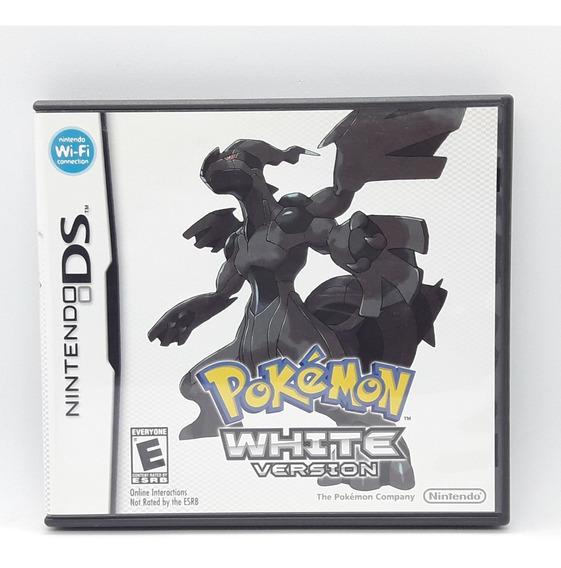 Pokemon White Version Nintendo Ds Midia Fisica Nds 3ds 2ds