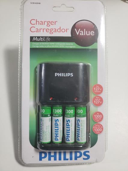 Pilha Recarregavel Philips Multilife Value