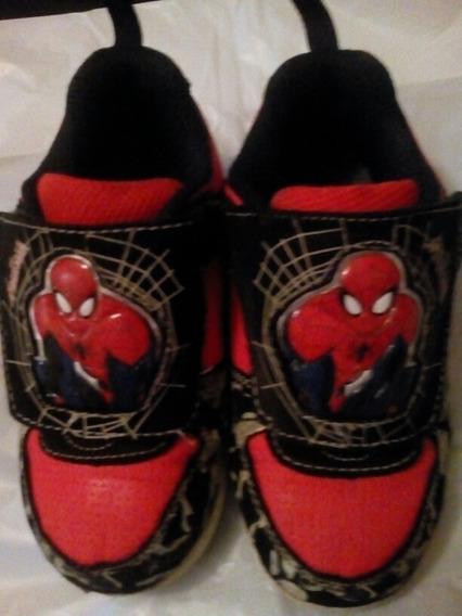 Zapatos De Spiderman Marvel Original