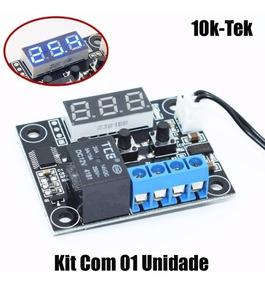 Termostato Xh-w1209 Controle Temperatura Chocadeira Arduino