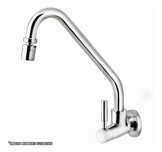Torneira Perflex Para Cozinha De Parede Slim 1168 C36