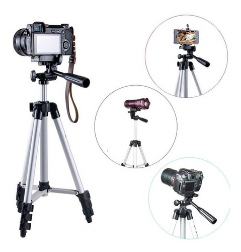 Tripe Profissional Celular Camera Youtuber Universal Suporte