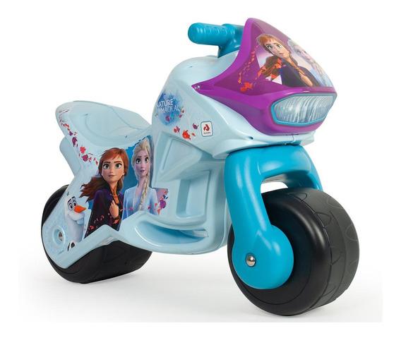 Montable Correpasillos Juguetes Moto Frozen 2 Injusa Niñas