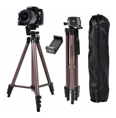 Imagem 1 de 3 de Tripé Celular/câmera Wt3130 De Aluminio Greika