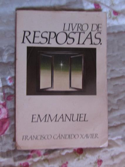Livro De Respostas Emmanuel - Francisco Cândido Xavier