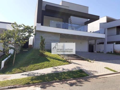 Casa Com 3 Dormitórios À Venda, 331 M² Por R$ 1.900.000,00 - Alphaville Nova Esplanada Iii - Votorantim/sp - Ca2086