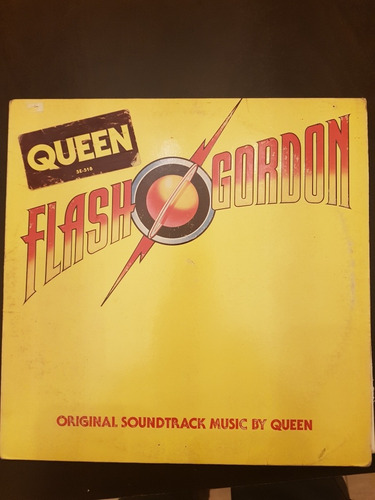 Queen. Flash Gordon. Vinilo 1980 Importado Usa