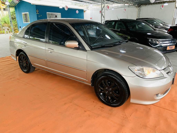Honda Civic Sedan Lx 1.7 16v 2005 Mec.