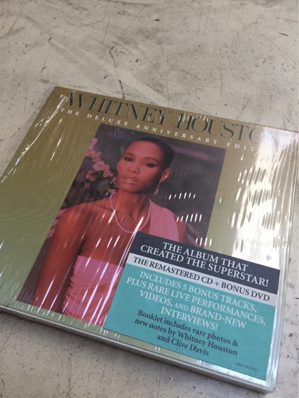 Cd + Dvd Whitney Houston The Deluxe Anniversary Edition