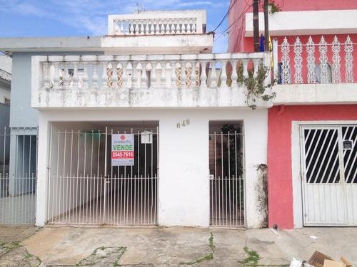 Imagem 1 de 15 de Casa Sobrado Em Parque Boturussu  -  São Paulo - 120