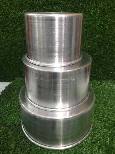 Moldes Para Torta De Aluminio Medida 14 18 22 Por 10cm Alto