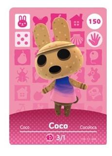 Amiibo Coco/ Cocoloca Animal Crossing New Horizons
