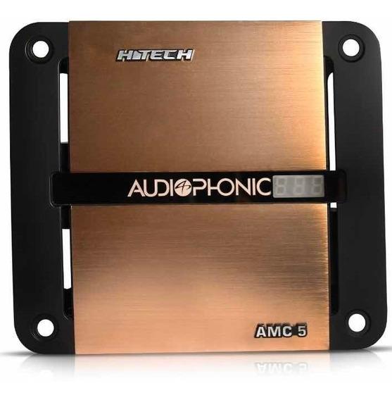 Mega Capacitor Audiophonic Amc5 Com Voltimetro H-tech