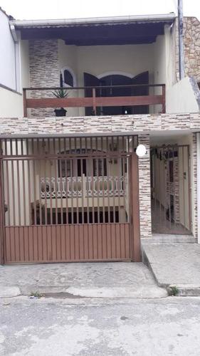 Imagem 1 de 15 de Sobrado Para Venda Por R$500.000,00 Com 180m², 3 Dormitórios, 2 Suites E 5 Vagas - Parque Gerassi, Santo André / Sp - Bdi28861