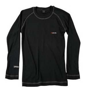 Camiseta Termica Makalu Drymax Pro Color Negro Primera Piel