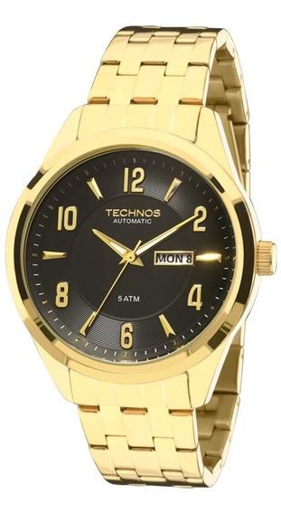 Relógio Technos Classic Automático Analógico 8205ni/4p
