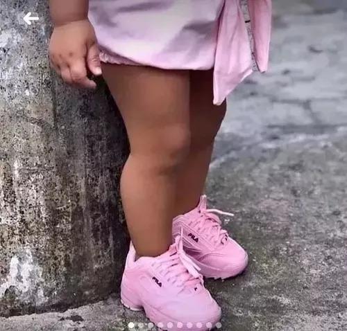 Tênis Infantil Fiila Disrupto Imediato Menina Menino
