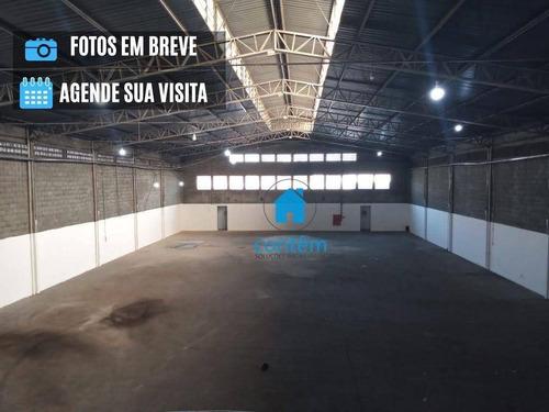 Galpão Para Alugar, 1000 M² Por R$ 23.000,00/mês - Jardim Piratininga - Osasco/sp - Ga0052