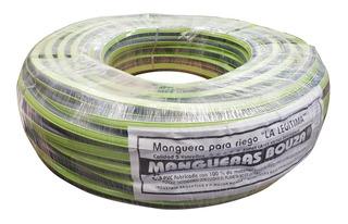 Manguera Rollo Riego 3/4 X 15 Metros Pvc Reforzada