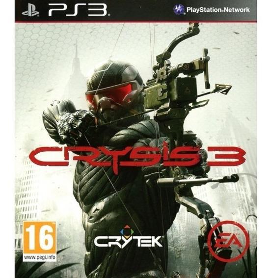 Game Play3 - Crysis 3 - Semi-novo Jogo Ps3