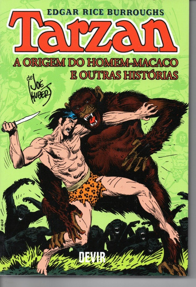 Tarzan A Origem Do Homem-macaco Devir - Bonellihq Cx477 H19