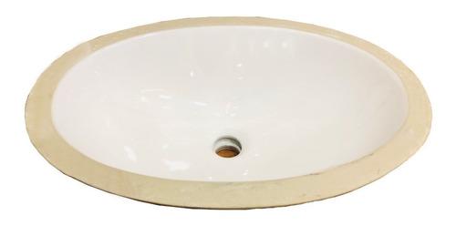 Lavamanos De Empotrar Oval 49.5x33 Incepa