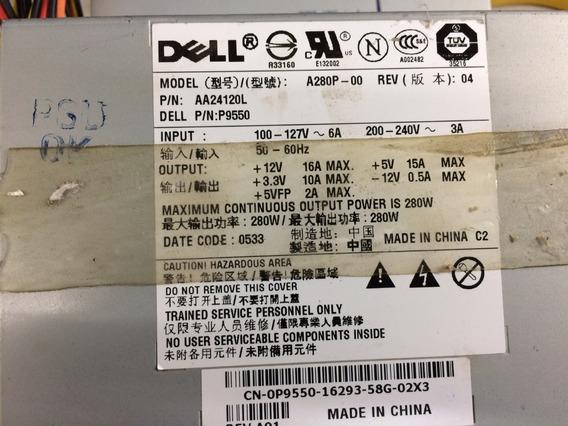 Fonte Dell A280 Slim Optiplex A280p-00 Optiplex 320