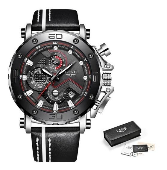 Relógio Masculino Original Lige 100% Funcional Frete Grátis!