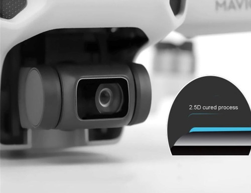 Imagem 1 de 7 de Película Vidro Protetora Drone Dji Mavic Mini 01 E Mini 02