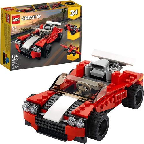 Imagen 1 de 6 de Lego Creator 31100 Sport Car Deportivo 3 En 1 Nuevo Original