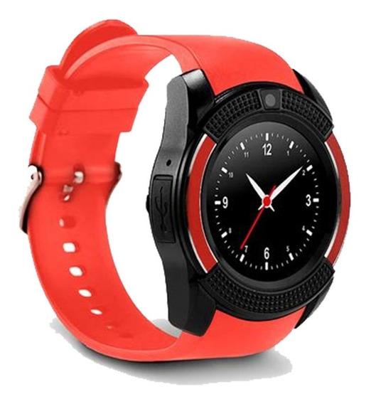Smart Watch V8 Reloj Inteligente Bluetooth Camara Sim Sd