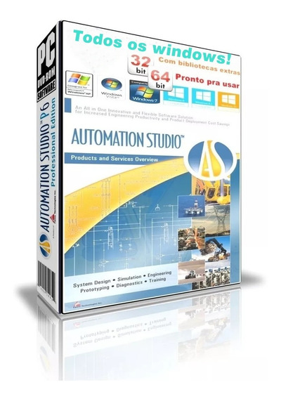 Automation Studio 5.2 Roda Em Windows 10