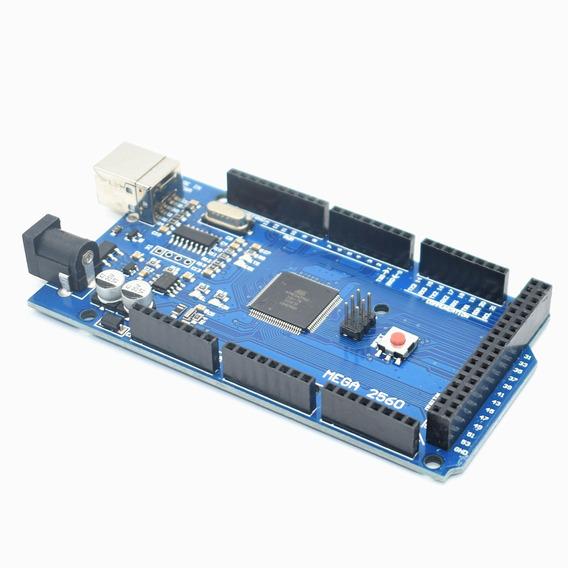 Arduino Mega 2560 R3 Ch340 Tenstar Robot Pronta Entrega