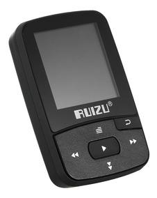 Ruizu X50 8 Gb 1.5 Polegadas Mp3 Mp4 Player Hifi Lossless So