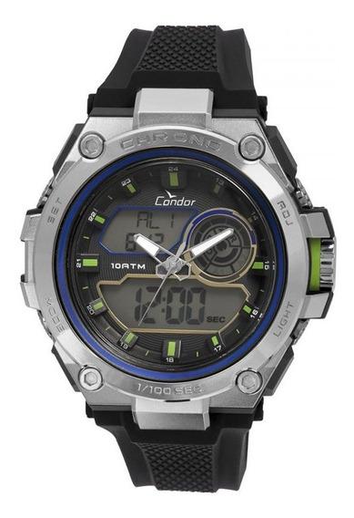 Relógio Condor Masculino Anadigi Co1161b/8p