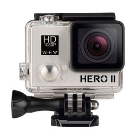 Câmera Filmadora Goalpro Hero2 Silver Sport 2 Full Hd 1080p