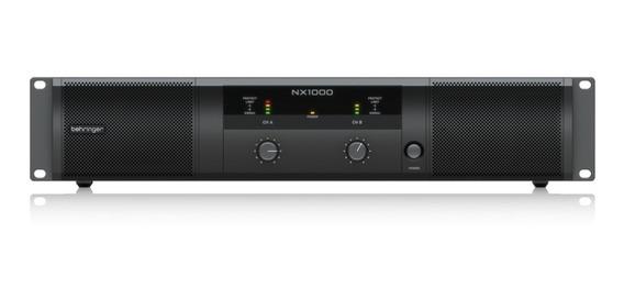 Nx1000(220v)- Amplificador De Potencia 1000w - Behringer