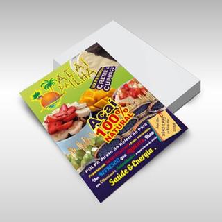 5000 Panfletos Flyer Arte E Frete Grátis 10x14
