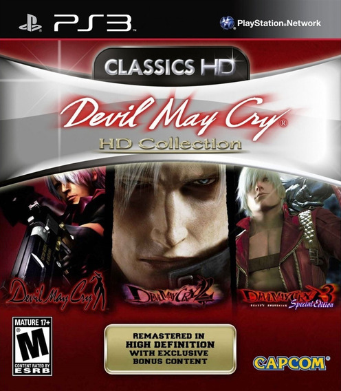 Devil May Cry Hd Collection 1 2 E 3 - Jogos Ps3 Playstation 3