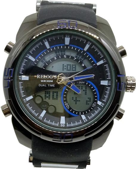 Relógio Masculino Relog´s Preto