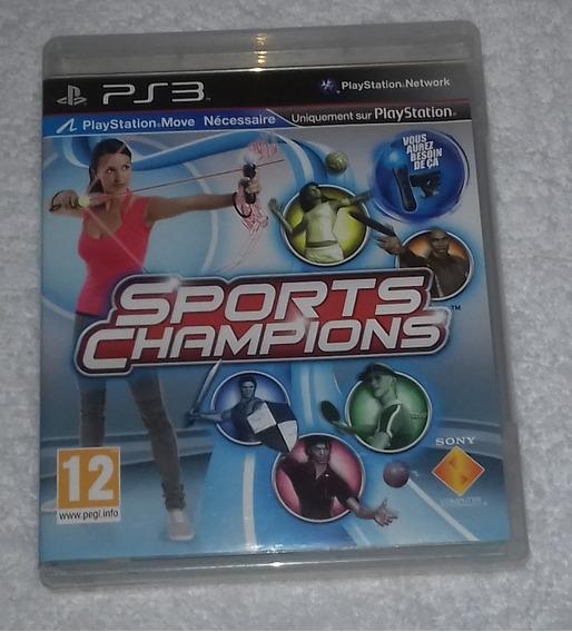 Sports Champions R2 Ps3 ** Frete Gratis Leia
