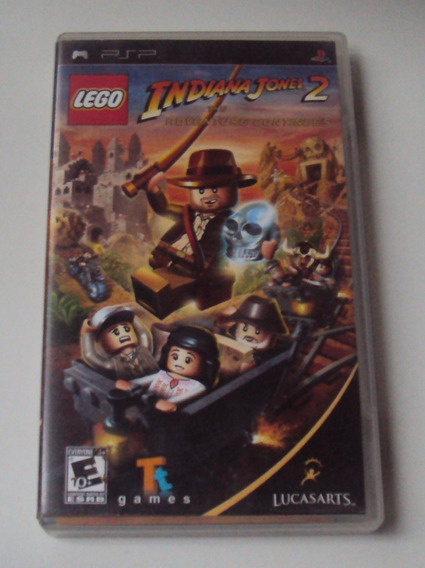 Lego Indiana Jones 2 Original Para Psp
