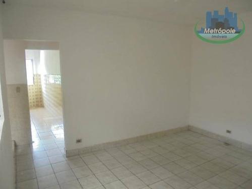 Apartamento Para Alugar, 60 M² Por R$ 700,00/mês - Jardim Bela Vista - Guarulhos/sp - Ap1155